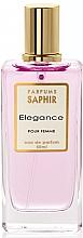 Парфюмерия и Козметика Saphir Parfums Elegance - Парфюмна вода