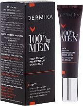 Парфюми, Парфюмерия, козметика Крем против бръчки за околоочна зона - Dermika Anti-Wrinkle Eye Cream