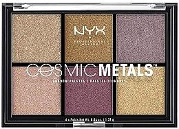 Парфюмерия и Козметика Палитра сенки за очи - NYX Professional Makeup Cosmic Metals Shadow Palette