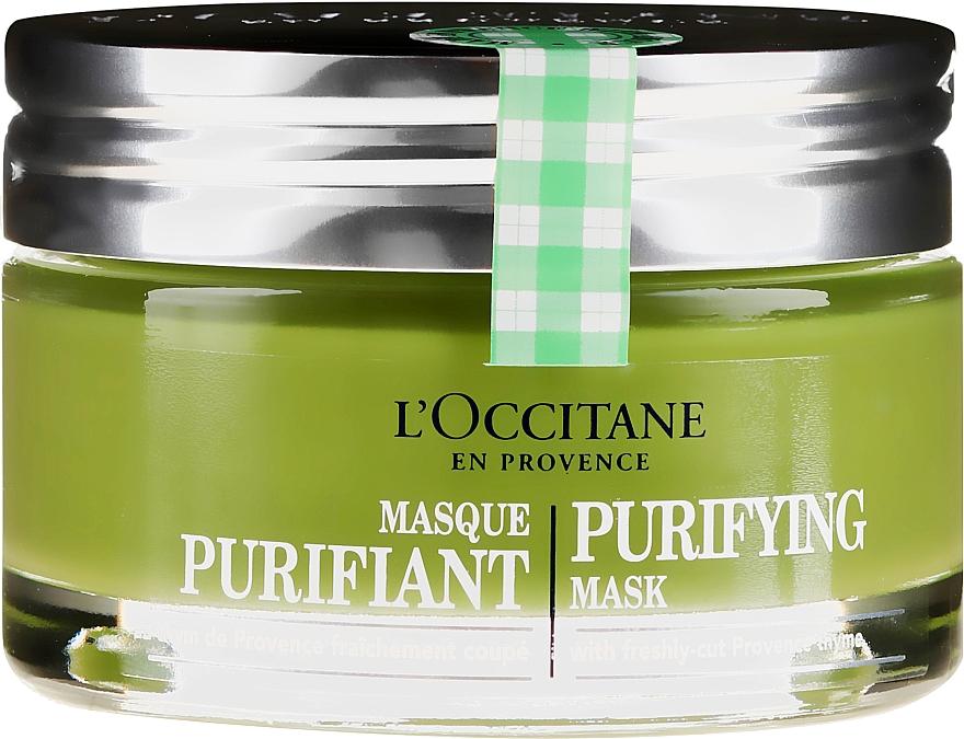 Почистваща маска за лице - L'Occitane Purifying Mask — снимка N2