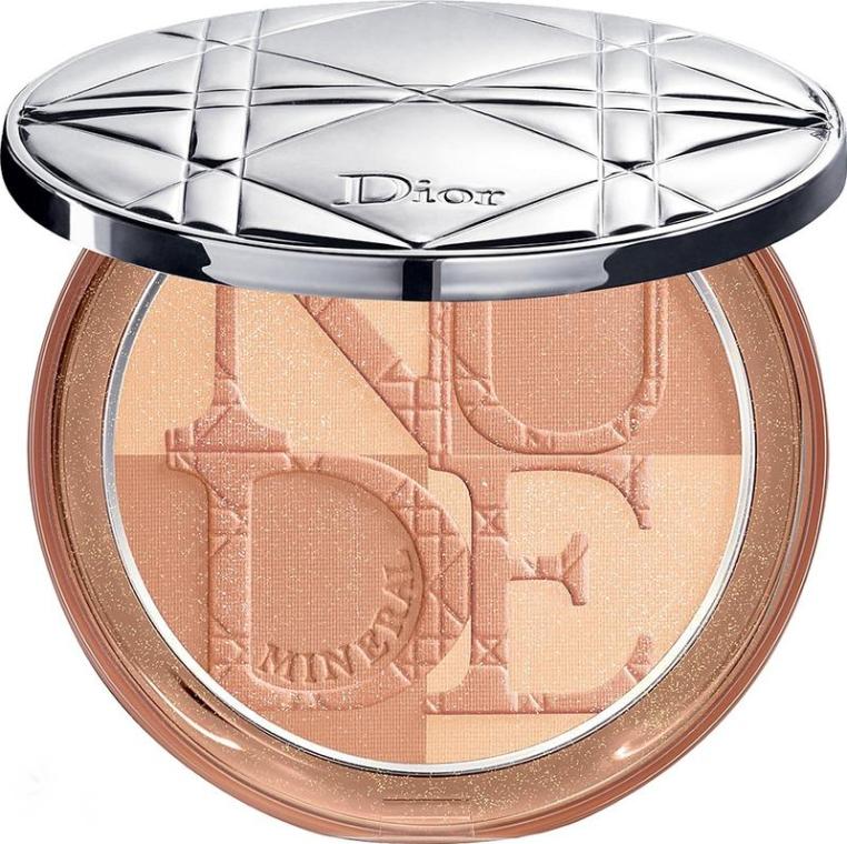 Компактна минерална пудра за лице - Dior Diorskin Mineral Nude Bronze Powder