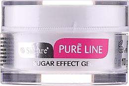 Парфюмерия и Козметика Декориращ гел за нокти със захарен ефект - Silcare Pure Line Sugar Effect