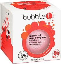 Парфюмерия и Козметика Бомбичка за вана с аромат на хибискус и асаи - Bubble T Bath Fizzer Hibiscus & Acai Berry