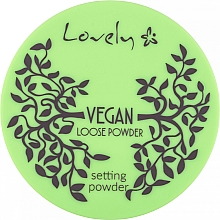 Парфюмерия и Козметика Прозрачна пудра за лице - Lovely Vegan Loose Powder Setting Powder