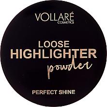 Парфюмерия и Козметика Насипен хайлайтър за лице - Vollare Loose Highlighter Powder Perfect Shine