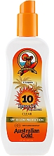 Парфюмерия и Козметика Слънцезащитен спрей-гел - Australian Gold SPF 10 Spray Gel