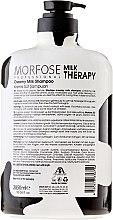 Шампоан за коса с млечен протеин - Morfose Milk Therapy Hair Shampoo — снимка N2