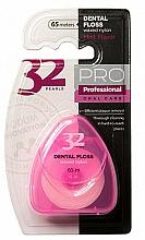 """Парфюмерия и Козметика Конец за зъби """"32 Pearls PRO"""" в розов калъф - Modum 32 Перли Dental Floss"""