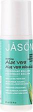 Парфюми, Парфюмерия, козметика Натурален рол-он дезодорант с екстракт от алое вера - Jason Natural Cosmetics Pure Natural Deodorant Roll-On Aloe Vera