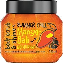 Парфюмерия и Козметика Подхранващ скраб за тяло - MonoLove Bio Mango-Bali Nourishing