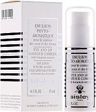 Парфюми, Парфюмерия, козметика Фито-ароматна емулсия за околоочния контур - Sisley Emulsion Phyto-Aromatique Eye And Lip Contour Complex