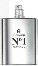 Парфюмерия и Козметика Aigner No 1 Platinum - Тоалетна вода (тестер без капачка)