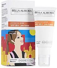 Парфюми, Парфюмерия, козметика Слънцезащитен крем за лице - Bella Aurora Protector Solar Pre-Base SPF50+