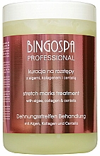 Парфюмерия и Козметика Гел за бодирепинг терапия против стрии с водорасли и колаген - BingoSpa Algae Compresses For Stretch Marks