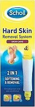 Система 2в1 за премахване и омекотяване на грубата кожа на ходилата - Scholl 2in1 Hard Skin Removal System — снимка N2