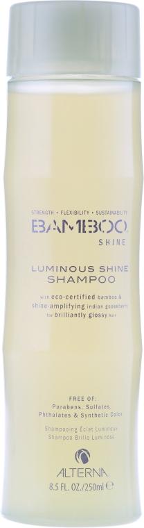 Шампоан за блясък с екстракт от бамбук - Alterna Bamboo Shine Luminous Shampoo — снимка N1