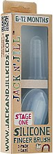Парфюми, Парфюмерия, козметика Бебешка силиконова четка за зъби от 6-12 мес. - Jack N' Jill