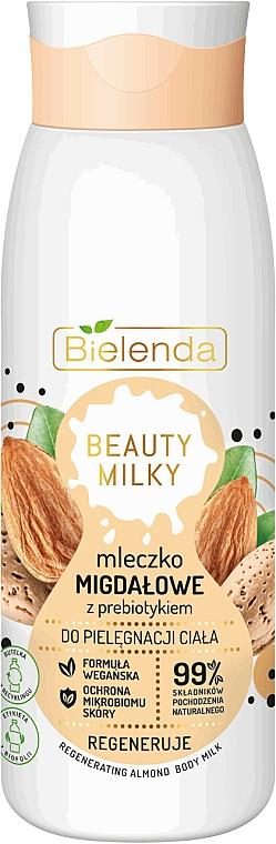 Регенриращо мляко за тяло с бедем - Bielenda Beauty Milky Regenerating Almond Body Milk — снимка N1