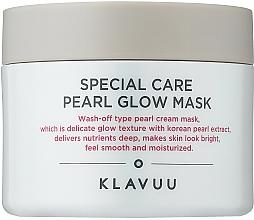 Парфюмерия и Козметика Глинена маска за лице с перлен екстракт - Klavuu Special Care Pearl Glow Mask