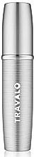 Парфюмерия и Козметика Парфюмен флакон, сребърен - Travalo Lux Silver Refillable Spray