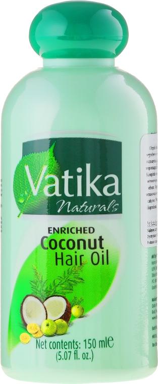 Обогатяващо кокосово масло за коса - Dabur Vatika Enriched Coconut Hair Oil
