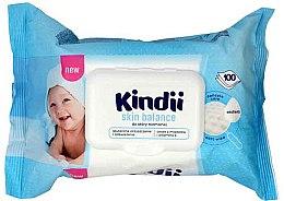 Парфюми, Парфюмерия, козметика Детски мокри кърпички - Cleanic Kindii Skin Balance