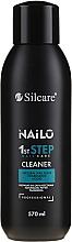 Парфюмерия и Козметика Обезмаслител за нокти - Silcare Nailo 1st Step Nail Cleaner