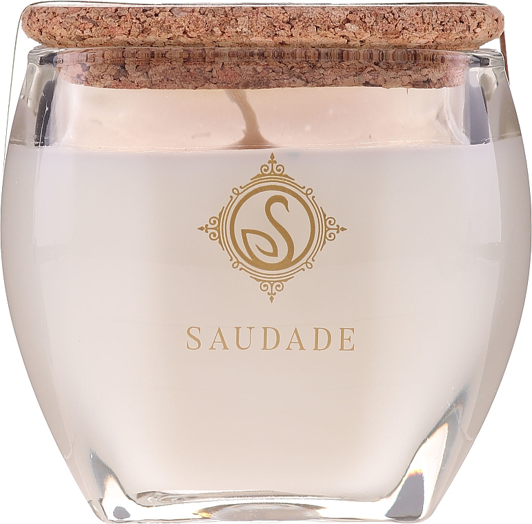 "Ароматна свещ ""Ванилов кехлибар"" - Essencias De Portugal Senses Saudade Vanilla Amber Candle — снимка N1"