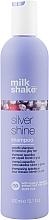 Парфюмерия и Козметика Шампоан за светла коса - Milk_Shake Silver Shine Shampoo