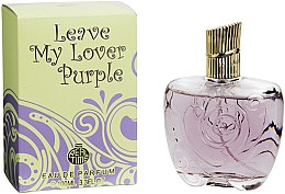 Парфюмерия и Козметика Real Time Leave My Lover Purple - Парфюмна вода
