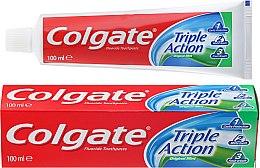 """Парфюмерия и Козметика Паста за зъби """"Тройно действие"""" - Colgate Triple Action Original Mint"""