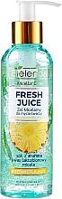 Парфюмерия и Козметика Мицеларен гел за сияйна кожа - Bielenda Fresh Juice Micellar Gel Pineapple