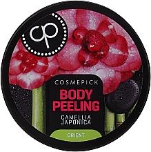 Парфюмерия и Козметика Релаксиращ пилинг за тяло с масло от японска камелия - Cosmepick Body Peeling Camellia Japonica
