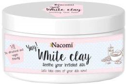 Парфюмерия и Козметика Бяла глина за лице - Nacomi White Clay