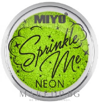 Неонов пигмент за очи - Miyo Sprinkle Me Neon — снимка Atomic Grass