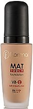 Парфюми, Парфюмерия, козметика Матиращ фон дьо тен - Flormar Mat Touch Foundation