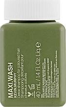 Парфюмерия и Козметика Детоксикиращ шампоан за боядисана коса - Kevin.Murphy Maxi.Wash Shampoo (mini)