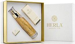 Парфюми, Парфюмерия, козметика Комплект за лице - Herla Gold Supreme II (еликсир/100ml + масло/15ml + крем/5ml)