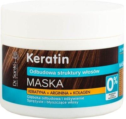 Маска за крехка и накъсана коса - Dr. Sante Keratin Mask