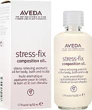 Парфюмерия и Козметика Успокояващо ароматно масло - Aveda Stress Fix Composition Oil