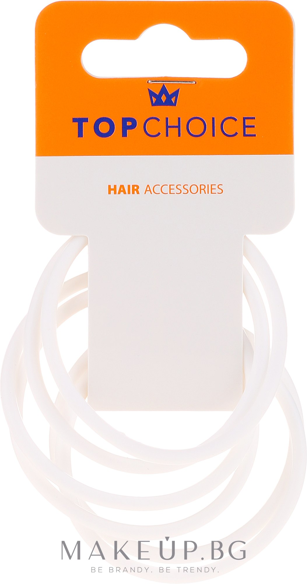 Ластици за коса 22807 - Top Choice — снимка 6 бр
