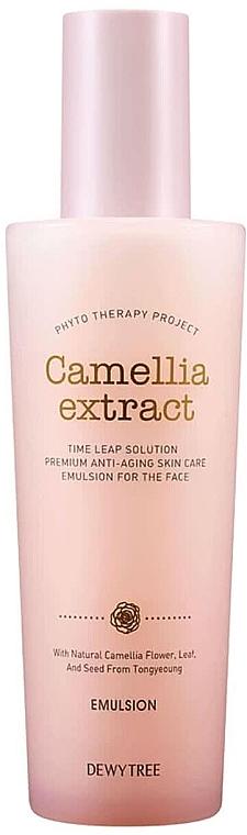 Подхранваща и хидратираща емулсия против бръчки - Dewytree Phyto Therapy Camellia Emulsion — снимка N1