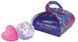 Парфюми, Парфюмерия, козметика Подаръчен комплект за тяло - Cafe Mimi Blue Fantasy (сапун/80g + бомб. за вана/120g)