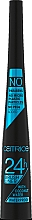 Парфюмерия и Козметика Водоустойчива очна линия - Catrice Eyeliner 24h Brush Liner Waterproof