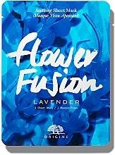 Парфюмерия и Козметика Успокояваща маска за лице от плат с екстракт от лавандула - Origins Flower Fusion Lavender Soothing Sheet Mask