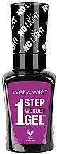 Парфюмерия и Козметика Гел лак за нокти - Wet N Wild 1 Step Wonder Gel Nail Color