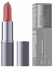 Парфюмерия и Козметика Матово червило за устни - Bell HypoAllergenic Rich Mat Lipstick