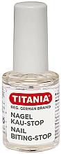 Парфюмерия и Козметика Лак против гризане на нокти - Titania Nail Biting-Stop