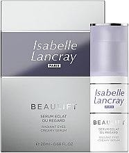 Парфюмерия и Козметика Регенериращ околоочен серум - Isabelle Lancray Beaulift Radiant Eye Creamy Serum