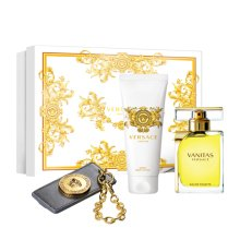 Парфюми, Парфюмерия, козметика Versace Vanitas - Комплект (edt/100ml + b/lot/100ml + accessory)